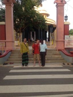 La visite de l'ashram de Sivagiri